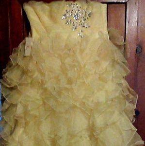 Corset back ball gown